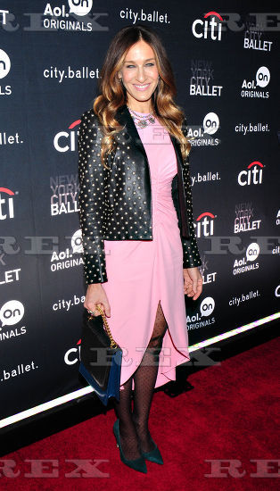 Sarah Jessica Parker at City.ballet premiere in NYC