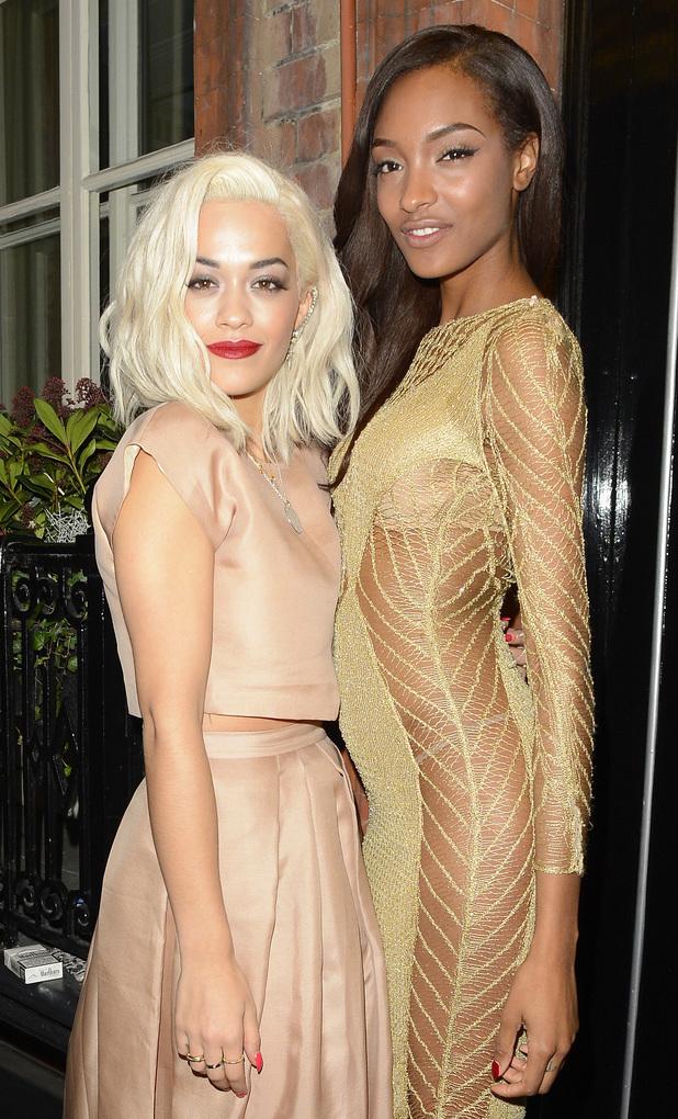 Jourdan Dunn with Rita Ora, Harper's Bazaar Women of the Year Awards 2013, 5.11.13