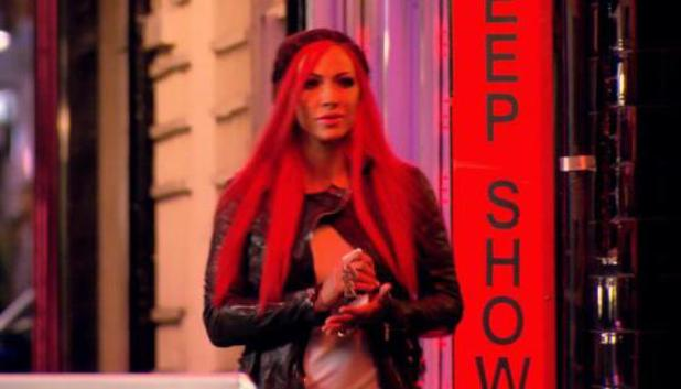 Jodie Marsh... On The Game - programme explores the sex trade. October 2013 on TLC.