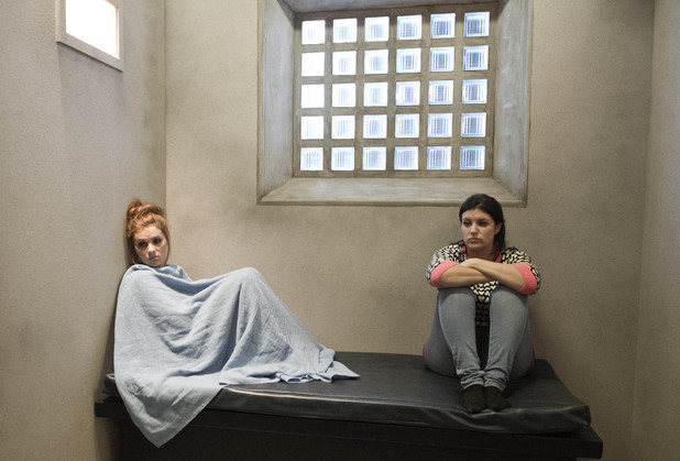 Emmerdale, Kerry and Amy in prison, Mon 11 Nov