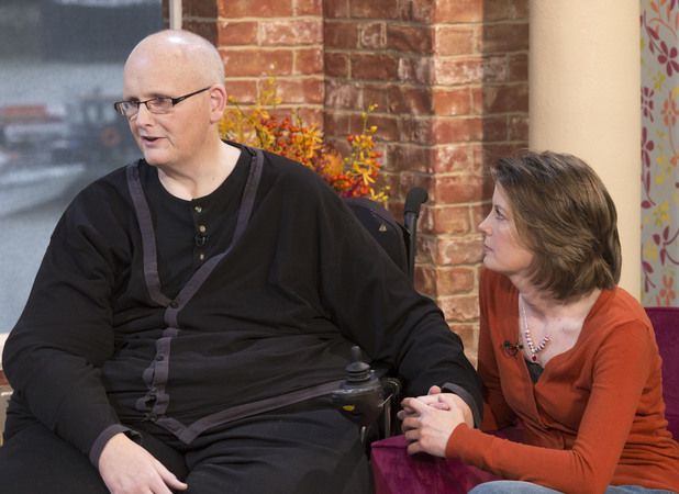 Paul and Rebecca met for the first time on This Morning