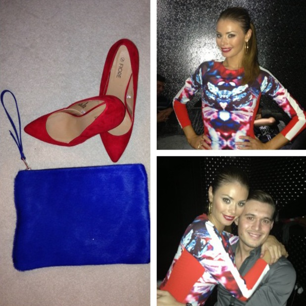TOWIE's Chloe Sims fashion blog: Outfit two - Birthday glam