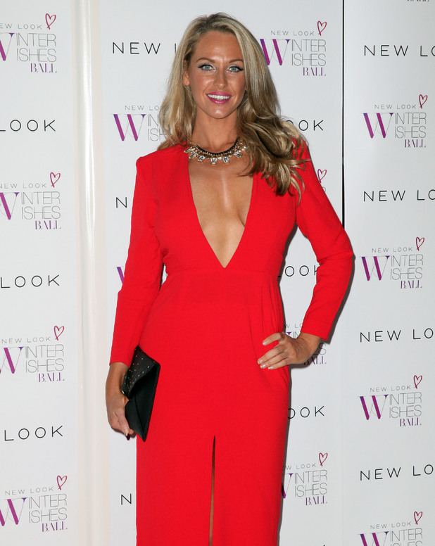 Josie Gibson at New Look Winter Wishes Charity Ball held at Evolution Battersea, 6.11.13