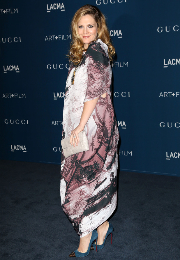 LACMA 2013 Art and Film Gala Honoring Martin Scorsese And David Hockney Presented By Gucci Person In Image:	Drew Barrymore