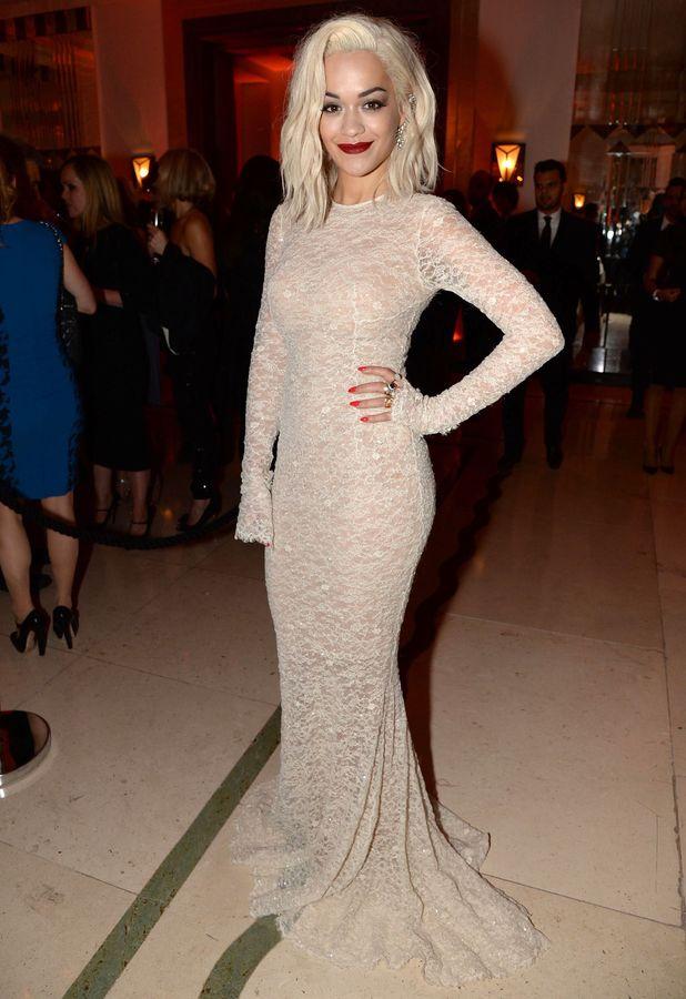 Rita Ora - Harpers Bazaar 'Woman of the Year' awards 2013, London, Britain - 05 Nov 2013