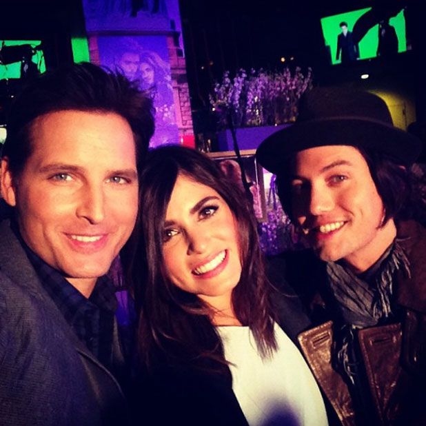 Nikki Reed, Peter Facinelli and Jackson Rathbone Twilight Forever Fan Experience Exhibit at Planet Hollywood, 4 November 2013