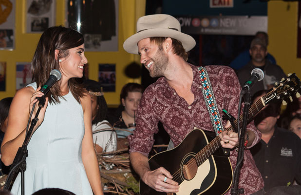 Nikki Reed and Paul McDonald, Twilight Forever Fan Experience Exhibit at Planet Hollywood, 4 November 2013