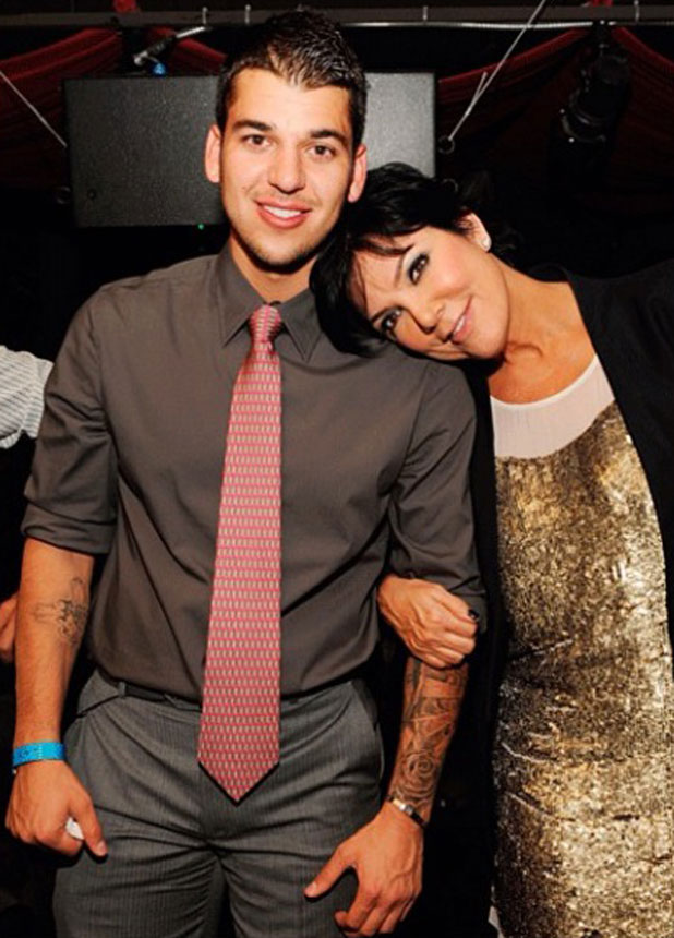 Rob Kardashian marks mum Kris' 58th birthday with collage of pictures, 5 November 2013