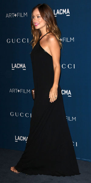 Olivia Wilde, Jason Sudeikis at the LACMA 2013 Art and Film Gala Honoring Martin Scorsese And David Hockney Presented By Gucci, 3 November 2013