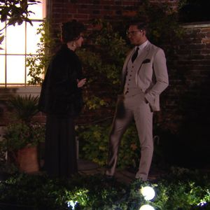 The Only Way Is Essex - TOWIE Lucy Mecklenburgh talks to her ex boyfriend Mario Falcone (Episode: Wednesday 13 November 2013)