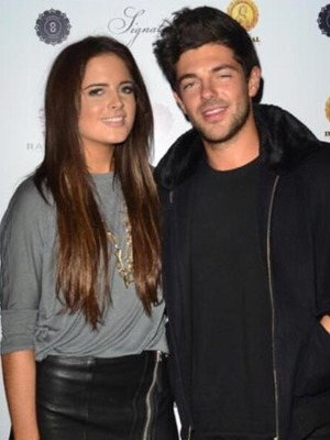 Alex Mytton Tweets a picture of him and girlfriend Binky Felstead, Nov 13.