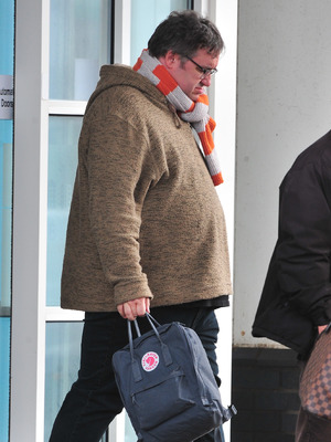 Mark Benton arrives in Blackpool for Strictly Come Dancing, Nov 13