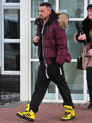 Robin Windsor arrives in Blackpool for Strictly Come Dancing, Nov 13