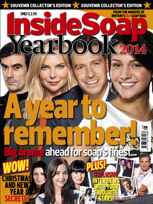 Inside Soap yearbook 2013 - magazine cover