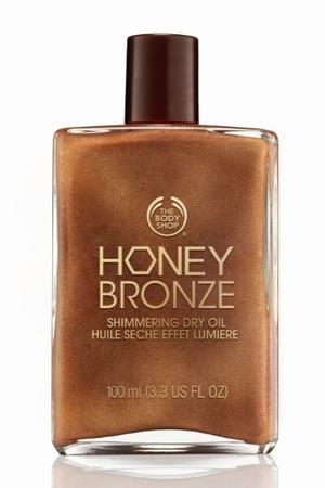 The Body Shop Honey Bronze Shimmering Body Oil