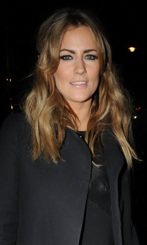 Caroline Flack at the British Heart Foundation Tunnel of Love party in London. 12.11.13