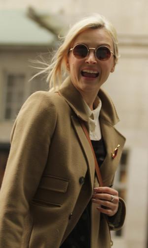 Fearne Cotton arrives at BBC Radio 1 studios, Nov 13