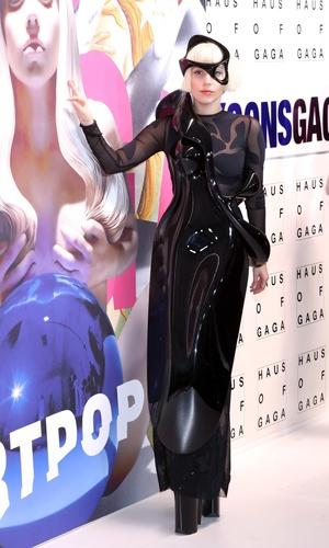 Lady Gaga Presents 'artRave' at Brooklyn Navy Yard on November 10, 2013 in the Brooklyn borough of New York City. 11/11/2013