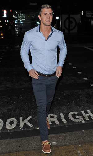 TOWIE series 10 Wrap Party held at Bubble Bar - Departures Dan Osbourne 11/14/2013. London, United Kingdom