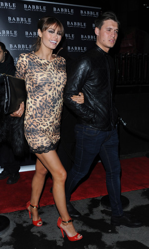 Chloe Sims - TOWIE series 10 Wrap Party held at Bubble Bar - Departures. 11/14/2013.