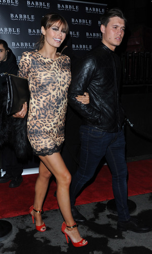 TOWIE series 10 Wrap Party held at Bubble Bar - Departures Chloe Sims, Charlie Sims 11/14/2013. London, United Kingdom