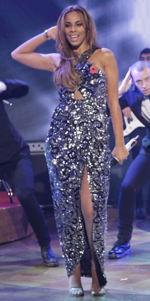 The Saturdays' Rochelle Humes on 'The Paul O'Grady Show' TV Programme, London, Britain - 11 Nov 2013