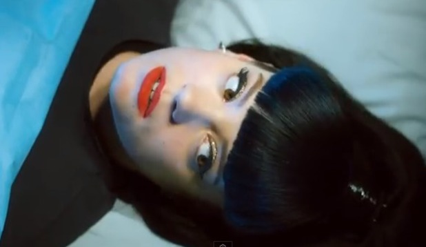 Lily Allen stills from single Hard Out here, Nov 13.