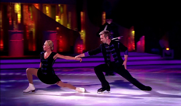 Dancing On Ice - The Final. 03/10/2013 Jayne Torvill and Christopher Dean perform on Dancing On Ice - The Final, Shown on ITV1 HD