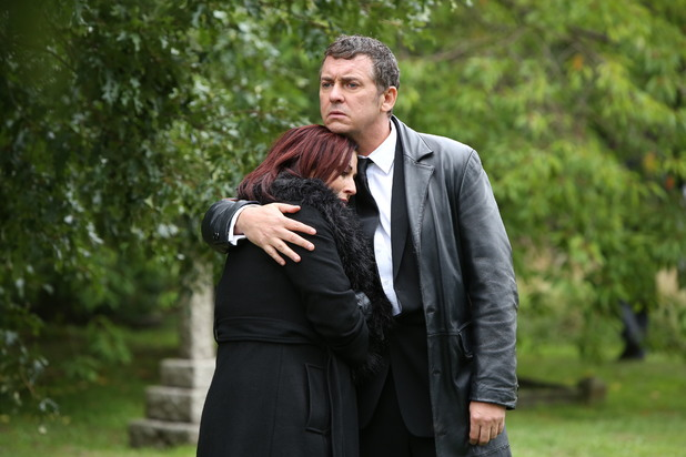 EastEnders, Michael's funeral, Tue 19 Nov