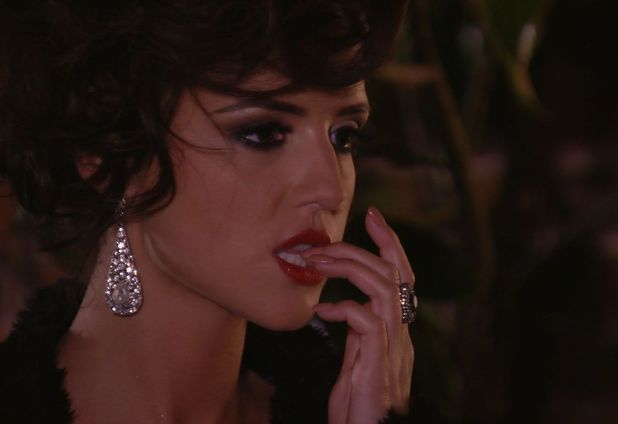 The Only Way Is Essex - TOWIE Lucy Mecklenburgh contemplates what ex boyfriend Mario Falcone has just told her. (Episode: Wednesday 13 November 2013)