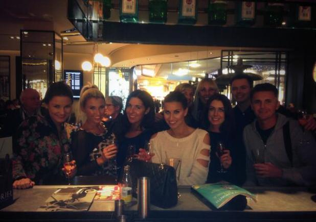 Ferne McCann, Sam and Billie Faiers and family and friend going to Dubai - 11.11.2013
