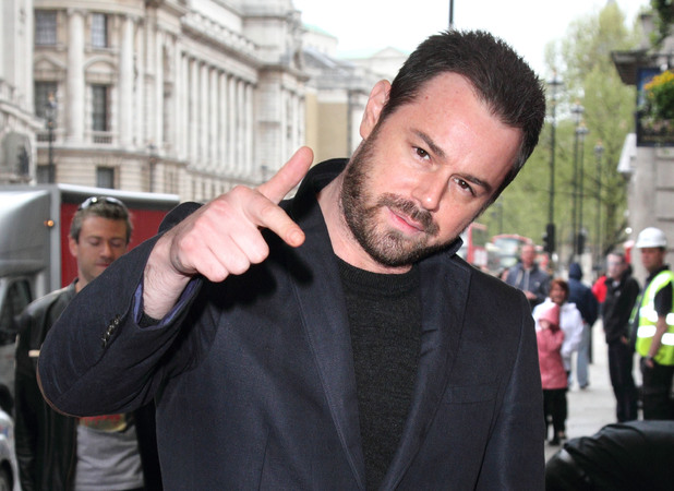 Danny Dyer attends The Hothouse Press Night at Trafalgar Studios, 9 May 2013