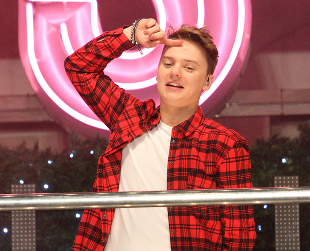 Conor Maynard, Oxford Street Christmas Lights Switch On at Oxford Street, London. Nov 13.