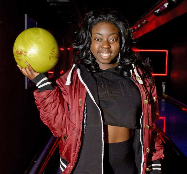 'The X Factor' finalists at All Star Lanes bowling alley, London, Britain - 12 Nov 2013