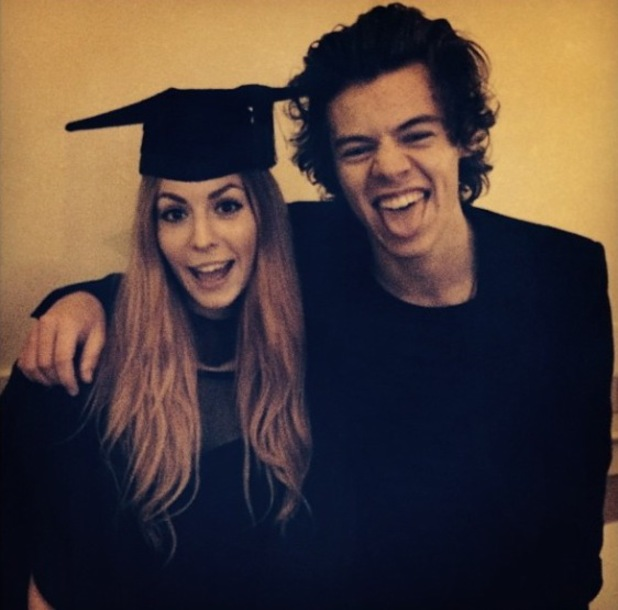 Harry Styles Graduation Harry Styles Attends His