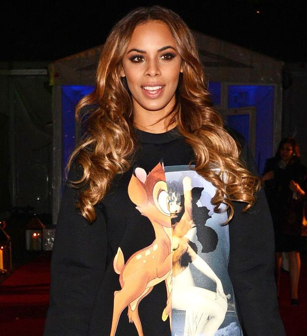 Rochelle Humes at the Chain of Hope Gala Ball, departures, London, Britain - 14 Nov 2013