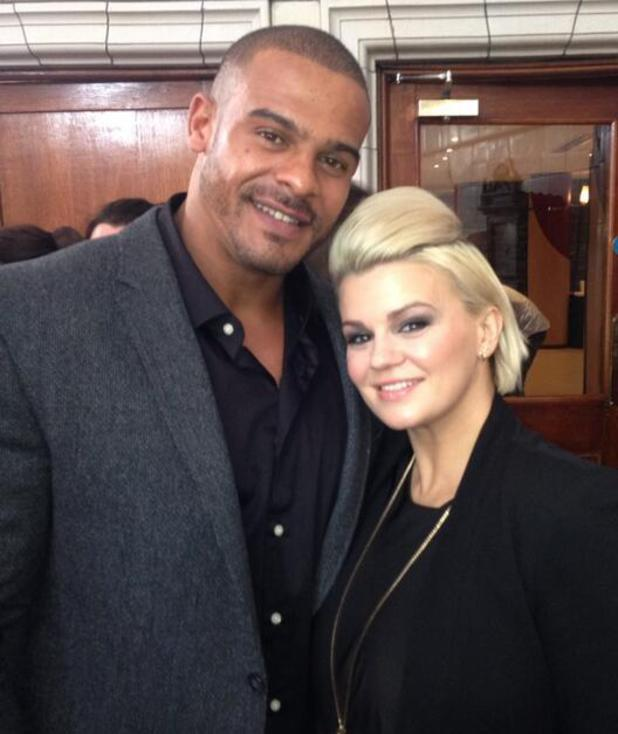 Kerry Katona and fiance George Kay (25 October)