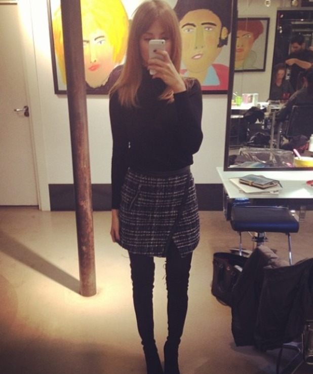 Millie Mackintosh looks like Cher from Clueless, Instagram picture, 13.11.13