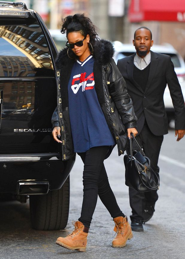 Rihanna out and about, New York, America - 09 Nov 2013