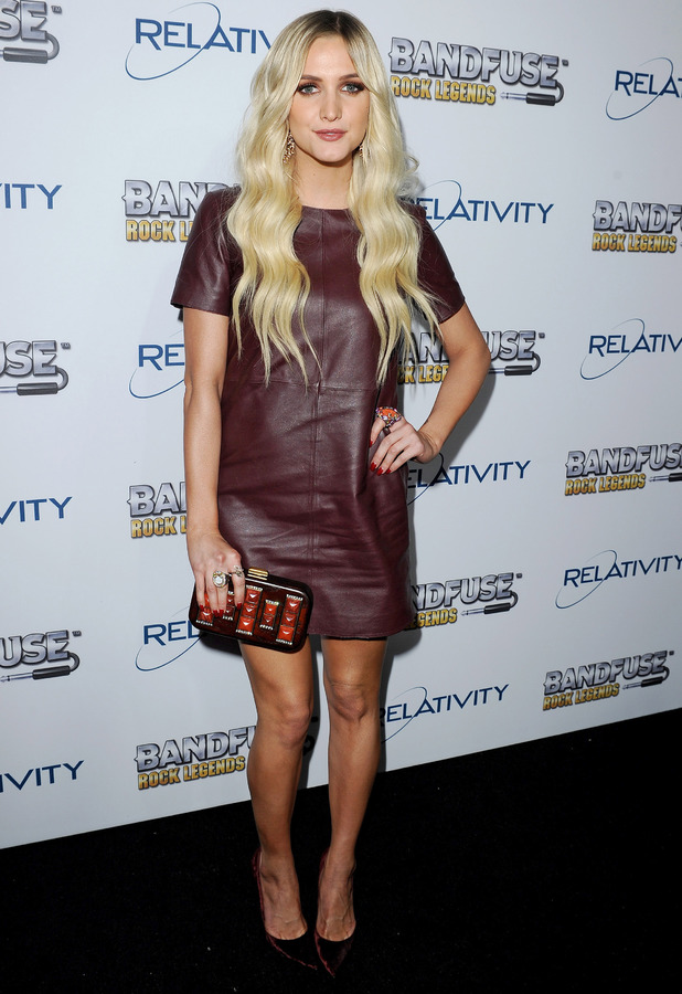 Ashlee Simpson - 'BandFuse: Rock Legends' video game launch event, Los Angeles, America - 12 Nov 2013