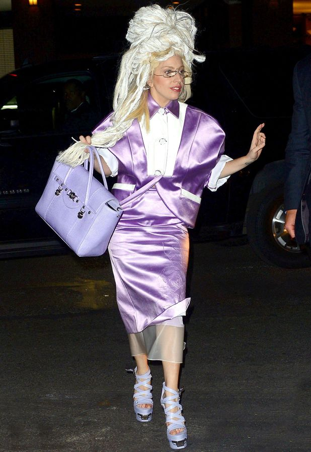Lady Gaga out and about in New York, America - 11 Nov 2013
