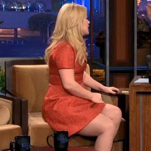 Kelly Clarkson appears on The Tonight Show With Jay Leno, 11 November 2013