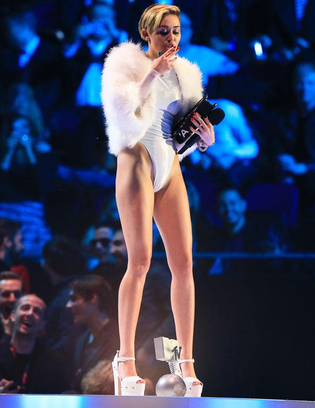 Miley Cyrus, 20th MTV Europe Music Awards held at Ziggo Dome, 10 November 2013