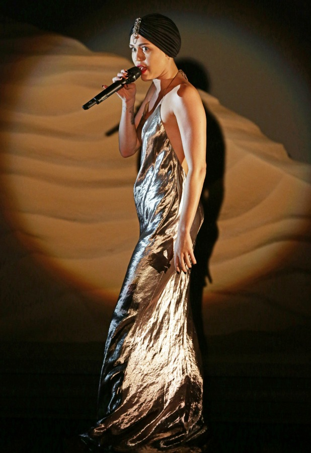 Miley Cyrus, 'The X Factor' TV show, London, Britain - 17 Nov 2013