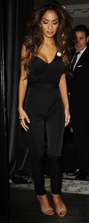 Nicole Scherzinger at the Arts Club in London, 10 November 2013