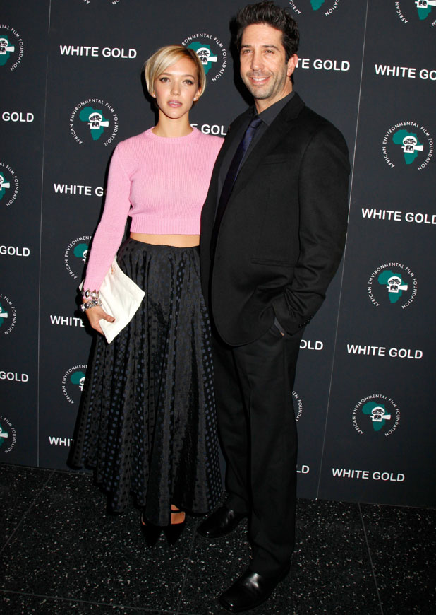 David Schwimmer and Zoe Buckman, Special screening of 'White Gold' at the Museum of Modern Art, 12 November 2013