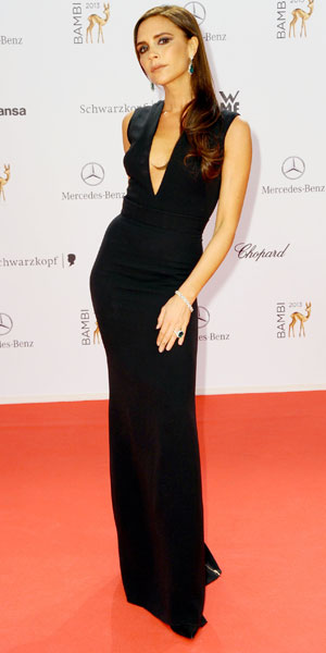Victoria Beckham, Bambi 2013 awards at Musical Theater am Potsdamer Platz theatre - Red Carpet, 14 November 2013