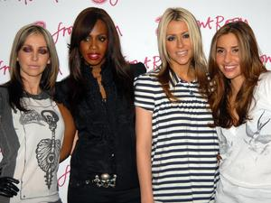 Natalie Appleton, Shaznay Lewis, Nicole Appleton and Melanie Blatt All Saints attend a photocall ahead of their live performance at the 3Front Room London, England - 25.10.06