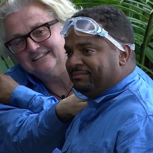 I'm A Celebrity... Get Me Out Of Here!, Shown on ITV1 HD David Emanuel, Alfonso Ribeiro (17/11/13)