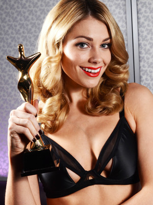 Georgia Horsley announced as the face of UK Lingerie Awards 2013.